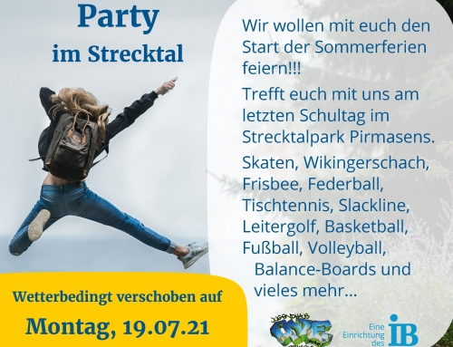 School's Out Party im Strecktal